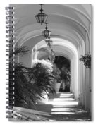 Lighted Arches Spiral Notebook