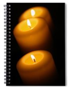 Lighted Path Spiral Notebook