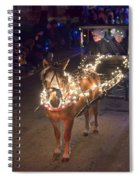 Lighted Pony Spiral Notebook