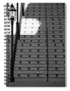 Lighted Steps Spiral Notebook