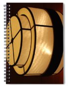 Lighted Wall  Spiral Notebook