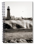 Lighthouse 1 Spiral Notebook