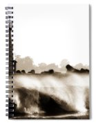 Lighthouse 3 Dreamy Spiral Notebook