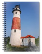 Lighthouse And Entry Spiral Notebook