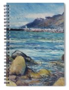 Lighthouse At Kalk Bay Cape Town South Africa 2016 Spiral Notebook