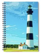 Lighthouse Bodie Island Spiral Notebook