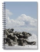 Lighthouse By The Bay Spiral Notebook
