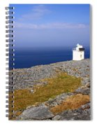 Lighthouse Cliff Spiral Notebook