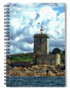 Lighthouse Ile Noire Spiral Notebook