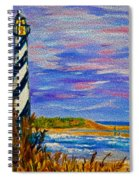 Lighthouse- Impressionism- The Coast Spiral Notebook