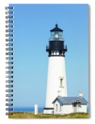 Lighthouse In Nice Weather. Spiral Notebook