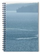 Lighthouse In The Bay Spiral Notebook