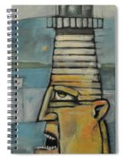 Lighthouse Keeper Spiral Notebook