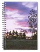 Lighthouse On A Landscape, Tawas Point Spiral Notebook