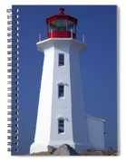 Lighthouse Peggy's Cove Spiral Notebook
