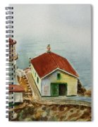 Lighthouse Point Reyes California Spiral Notebook