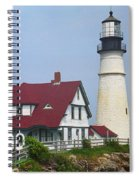 Lighthouse - Portland Head Maine Spiral Notebook