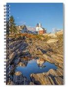 Lighthouse Reflection Spiral Notebook