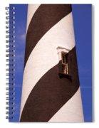 Lighthouse Stripes Spiral Notebook