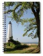 Lighthouse Summer Spiral Notebook