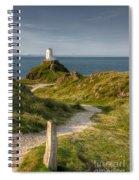 Lighthouse Twr Mawr Spiral Notebook
