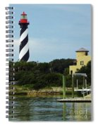 Lighthouse Water View Spiral Notebook