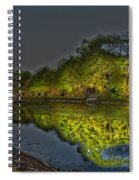 Lighting The Erie Canal Spiral Notebook