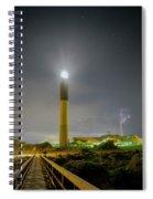 Lighting The Storm Spiral Notebook