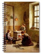Lighting The Stove Spiral Notebook