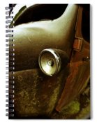 Lightly Rusted Spiral Notebook