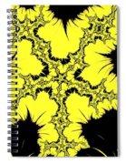 Lightning - Abstract Spiral Notebook