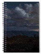 Lightning And Light Trails Spiral Notebook