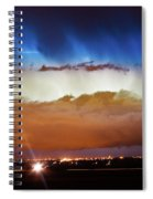 Lightning Cloud Burst Boulder County Colorado Im34 Spiral Notebook