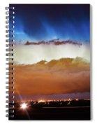 Lightning Cloud Burst Boulder County Colorado Im34 Spiral Notebook