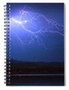 Lightning From Heaven Spiral Notebook