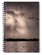 Lightning Man Spiral Notebook