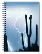Lightning Storm Chaser Payoff Spiral Notebook