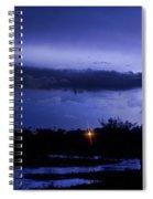 Lightning Thunderstorm July 12 2011 St Vrain Spiral Notebook