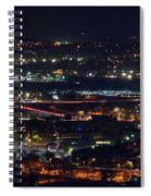 Lights Across Birmingham Spiral Notebook