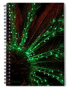 Lights Beneath The Fronds Spiral Notebook