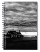 Lights In The Storm Spiral Notebook