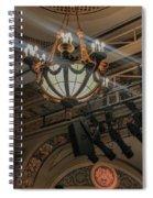 Lights Of Broadway Spiral Notebook