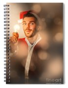 Lights Of Christmas Ideas Spiral Notebook