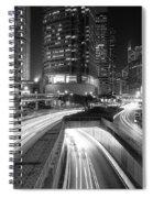 Lights Of Hong Kong Spiral Notebook
