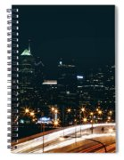 Lights Of Philadelphia Spiral Notebook