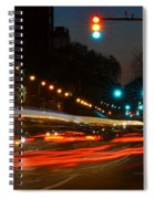 Lights Of The City Spiral Notebook