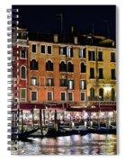 Lights Of Venice Spiral Notebook