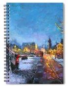 Lights On Elmwood Ave Spiral Notebook
