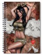 Lights Out 3 Spiral Notebook