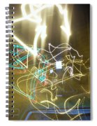 Lights That Attack Cars Spiral Notebook